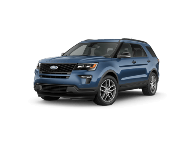 New 2019 Ford Explorer Sport SUV for sale in Mahopac